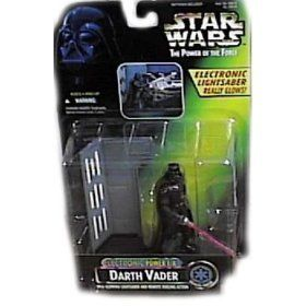 Star Wars Power of the Force Electronic Power FX Darth Vader Action Figure *** See this great product.