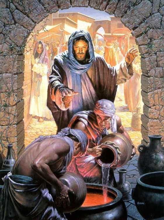 The Second Luminous Mystery. Jesus. http://stores.ebay.com/Gods-411