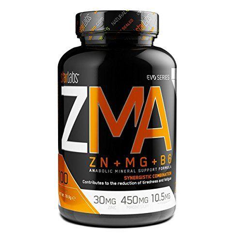 Starlabs nutrition – ZMA Zinc + Magnesio + Vitamina B6 – Suplemento – 90 capsulas – Por Un Cuerpo Perfecto