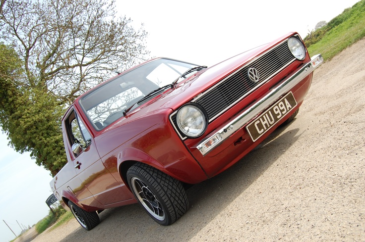 the one, the only, Bruce Chugga! My 1985 Mk1 Volkswagen Caddy