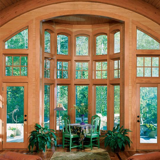 Gran ventanal tipo Glorieta