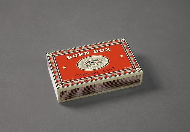 Burn Box Cannabis Club (Student Project) on Packaging of the World - Creative Package Design Gallery