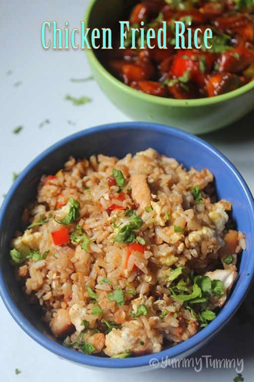 I haven't shared a proper chicken fried rice in my blog so far. So i decided to make it few days back and here i am with the recipe. Similar Recipes, Veg Fried Rice Chicken Fried Rice Prawn Fried Rice Mushroom Fried Rice Schezwan Fried Rice Singapore Fried Rice Egg Fried Rice If you have...Read More
