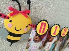 Bumble Bee Birthday Party First Year Photo by sweetheartpartyshop