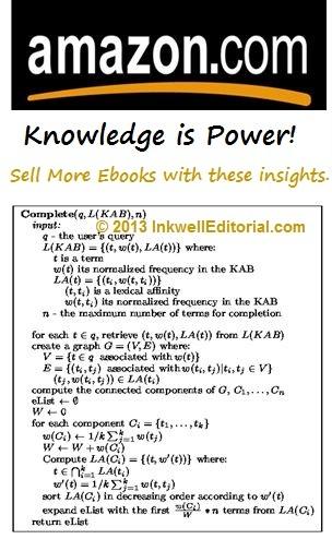 Amazon Self-Publishing Algorithm Tips to Help You Sell More Ebooks!