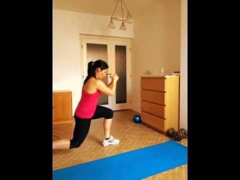 Začátečníci - cvičení na doma začátečníci 14.8. - YouTube
