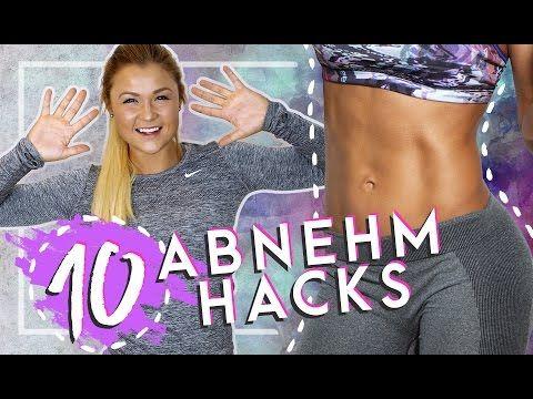 DAUERHAFT SCHLANK | Top 10 Abnehm Hacks - YouTube