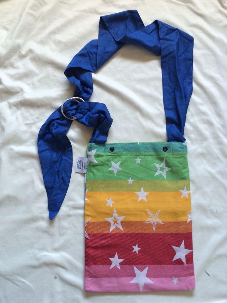 Kokadi rainbow stars Babywearing bag