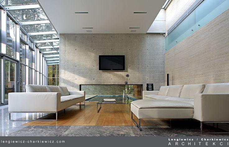 Wnętrza luksusowej rezydencji w Konstancinie. Projekt i realizacja: lengiewicz-charkiewicz.com (fotografia: Hanna Długosz)