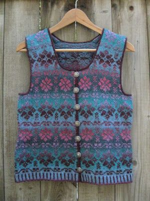 86 best Fair Isle and Color images on Pinterest | Fair isles, Knit ...