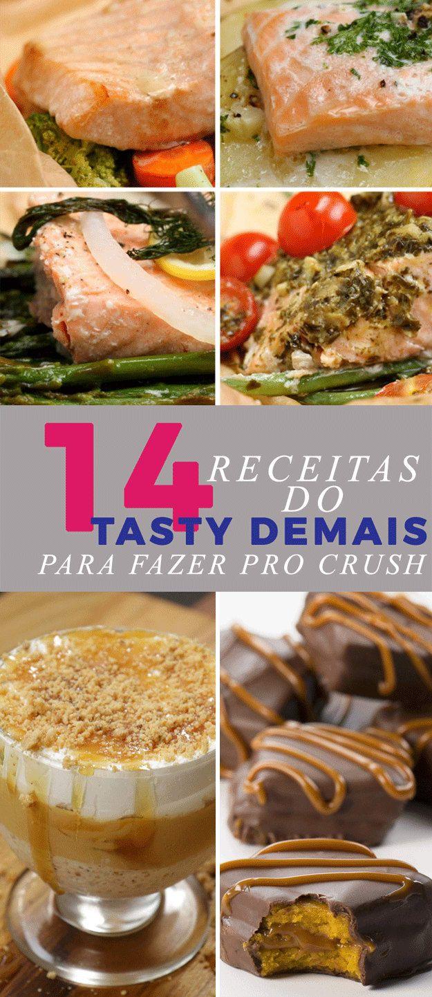 14 receitas do Tasty Demais para fazer para o crush em casa