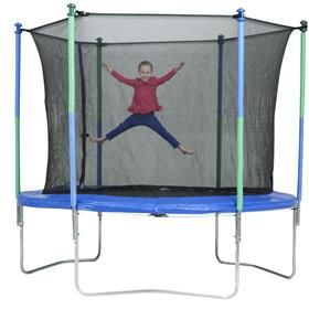 Your kids will be active on this trampoline