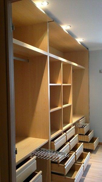 Best 25 interiores de armarios empotrados ideas on pinterest empotrados de armario armarios - Medidas de puertas de interior ...