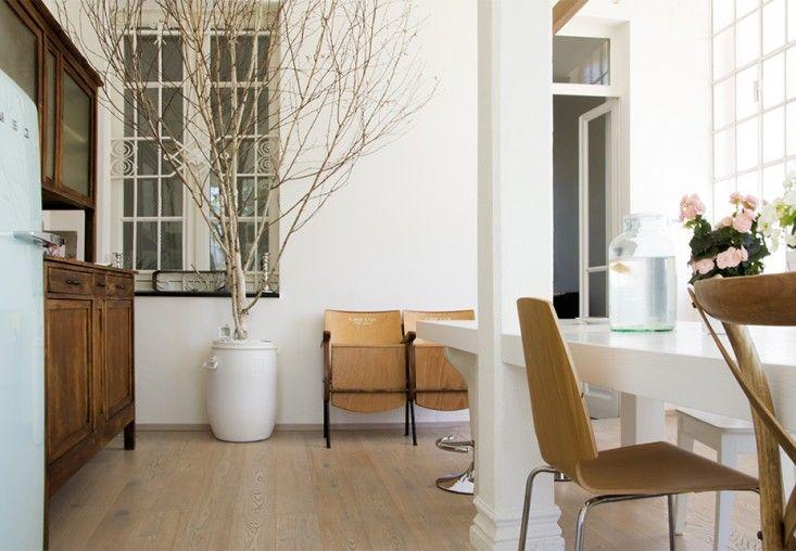 The new kitchen at Casa Errepi, an Italian villa remodel and restoration by Archiplan Studio | Remodelista