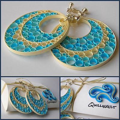 Quilling - Ear rings