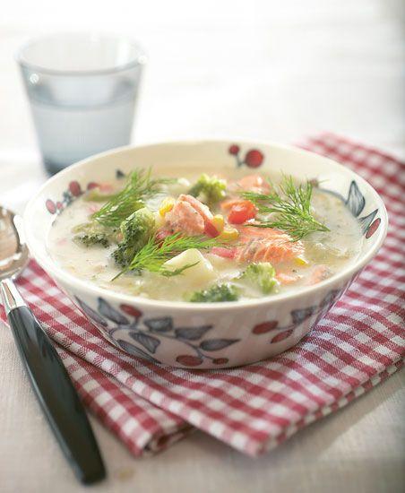 Salmon Soup.    Eat Finland! - thisisFINLAND: Arts & culture: Cuisine