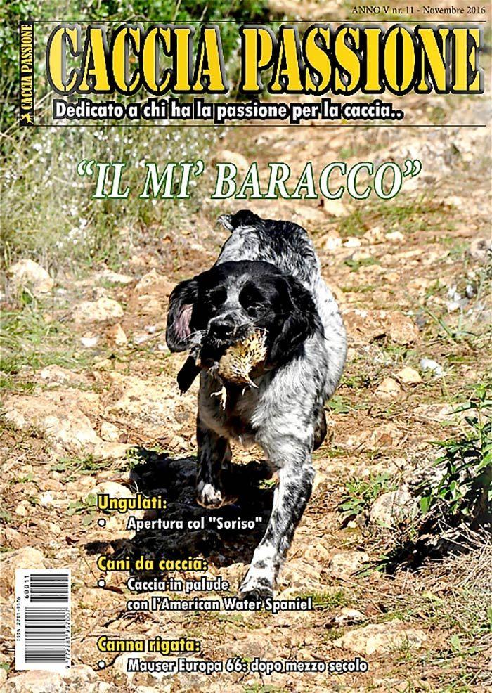 Caccia Passione Anno V – n° 11 Novembre 2016