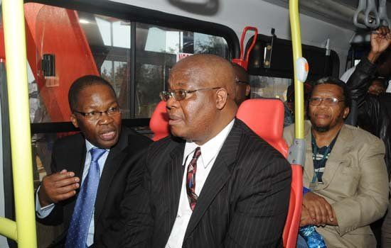 Official launch of the BRT/Rea Vaya system in Johannesburg