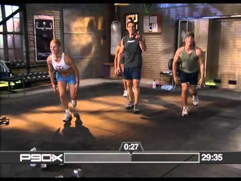 P90X Extreme Home Fitness - Legs and Back FULL