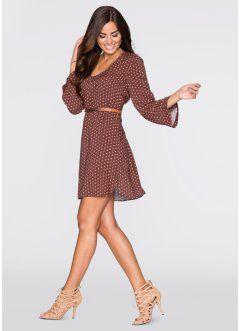 MUST-HAVE: платье, BODYFLIRT, коричневый с узором