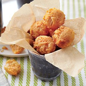 Hush Puppies | MyRecipes.com - Perfect with a bowl of Catfish Stew