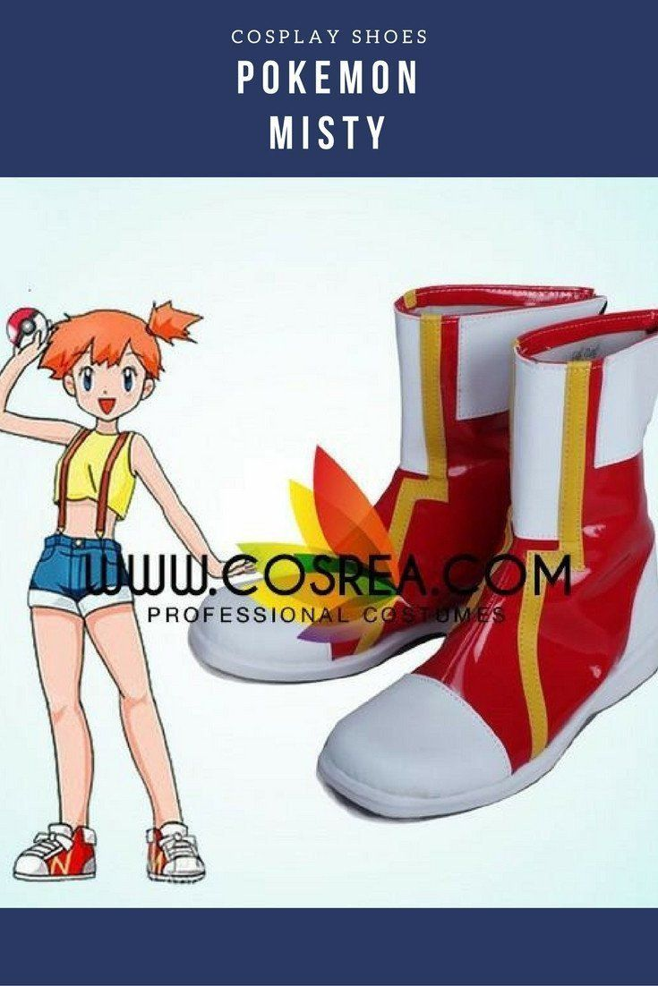 Pokemon Misty Cosplay Shoes