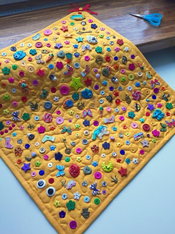 Sensory rug Baby activity mat Stroller toy