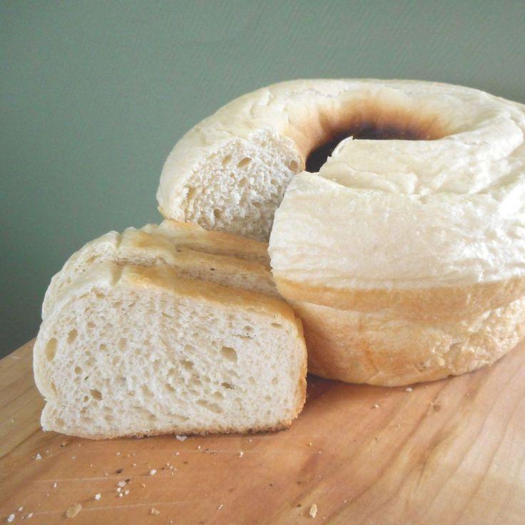 Witbrood uit de wonderpan (zonder oven!) / white bread baked in a 'wonderpan' (miracle pan), without an oven! - Het keukentje van Syts