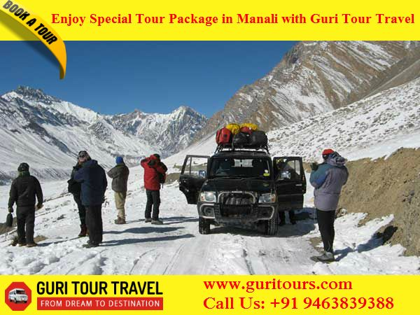 Book Special Tour Package in #Chandigarh to #Manali at lowest Price Guri Tour Travel