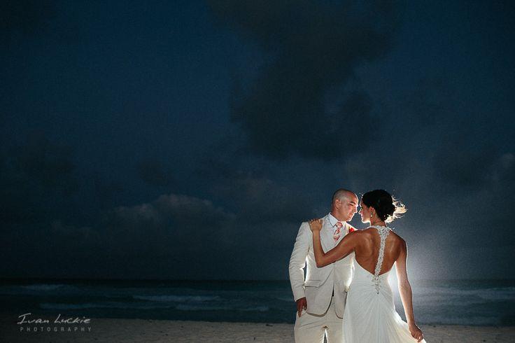 Erica + Jordan - Hyatt Zilara Cancun Wedding Photographer- Ivan Luckie