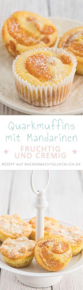 Diese Käsekuchen-Muffins mit Mandarinen schmecken Kindern und Erwachsenen gleichermaßen. Handlich, cremig, knusprig!