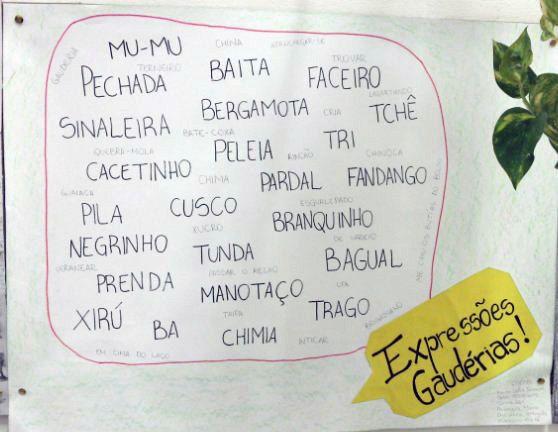 Para nossa sorte, todas estas palavras fazem parte do Brasil. | 20 provas de que o Rio Grande do Sul é outro país