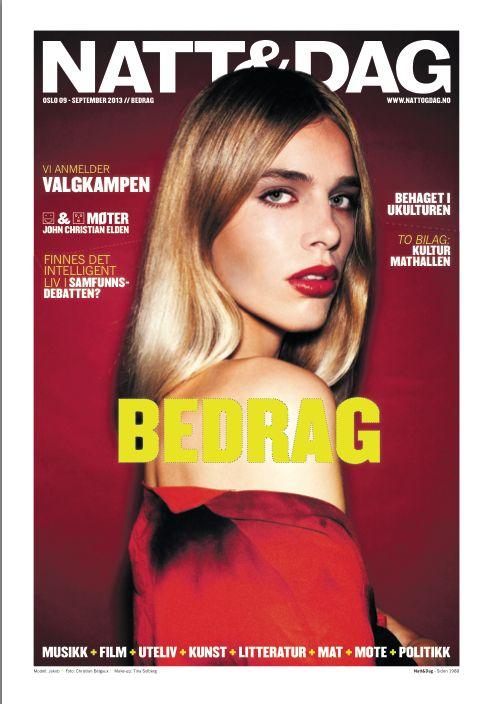 M.u & hair, cover for Natt&Dag ©Christian Belgaux