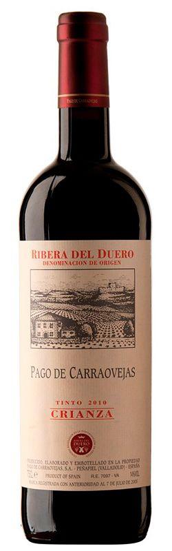 El Vino más Barato: Comprar Pago de Carraovejas Crianza 2010