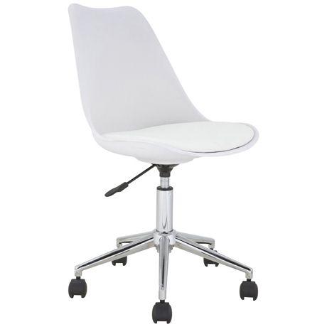 Brandon Office Chair  White
