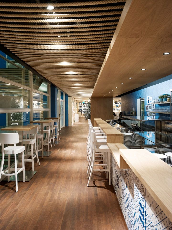 Azzurro restaurant by Andrin Schweizer Company, Zurich hotels and restaurants