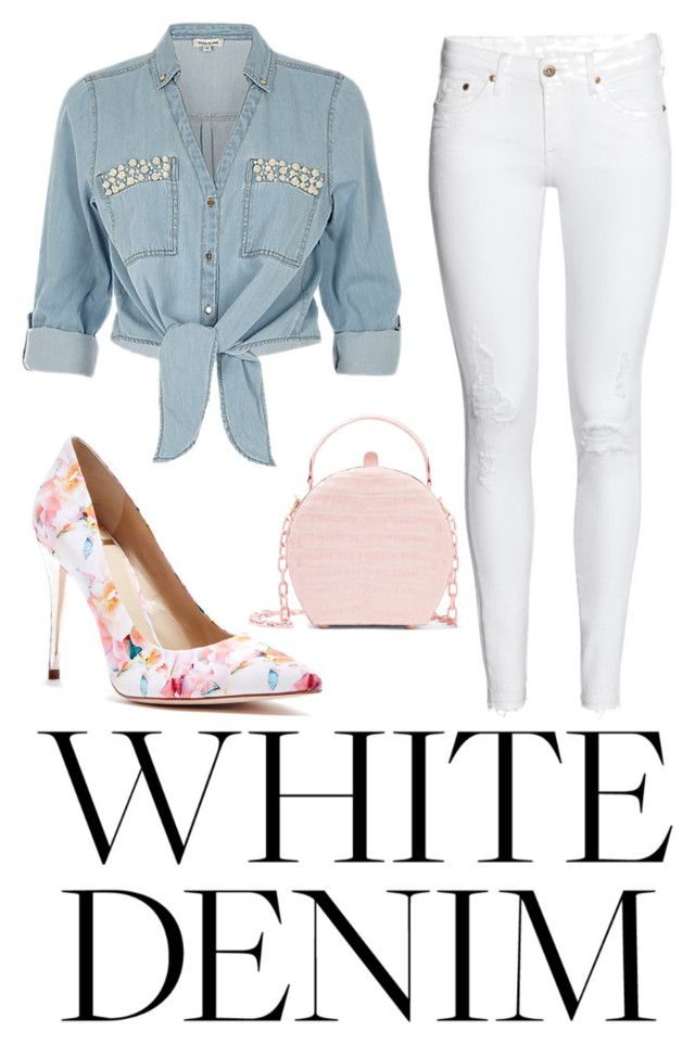 """""""Untitled #118"""" by the-idiot-next-door ❤ liked on Polyvore featuring H&M, Nancy Gonzalez, ZAK and GUESS by Marciano"""