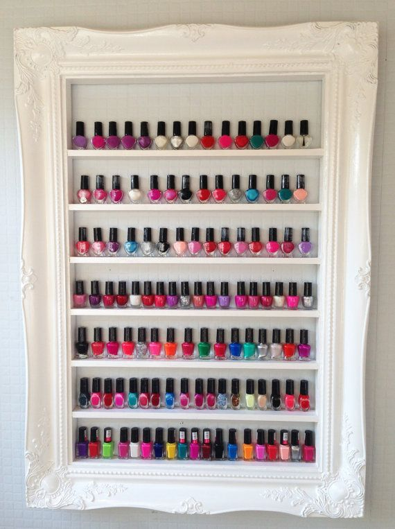 9 Best Nail Varnish Storage Images On Pinterest Nail Polish Racks Nail Polish And Nail Polishes