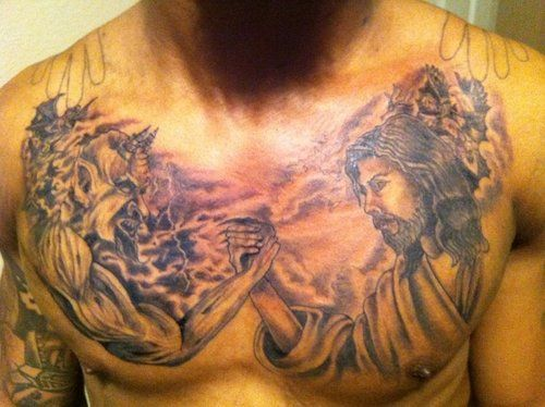 17 Best Images About Good Vs Evil On Pinterest: 17 Best Images About Devil Tattoos On Pinterest
