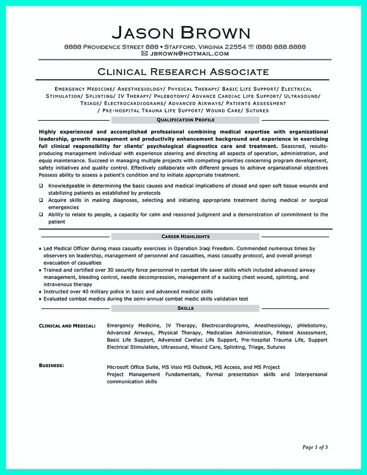Equity Research Associate Sample Resume Unique 7 Best Clinical Research Images On Pinterest  Clinical Research .