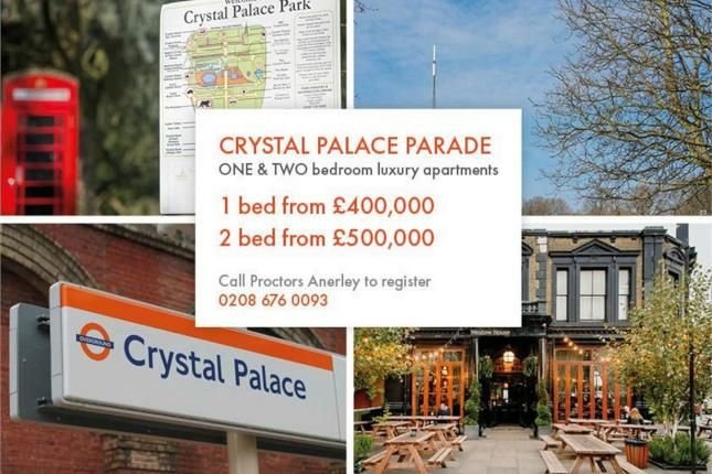 1 Bed Flat For Sale, Westow Hill / Crystal Palace Parade, Crystal Palace, London SE19, with price £399,950. #Flat #Sale #Westow #Hill #Crystal #Palace #Parade #London #SE19