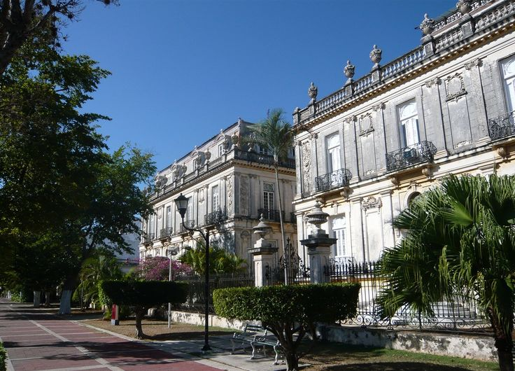Mérida, también conocida como la ciudad blanca, Yucatán, México