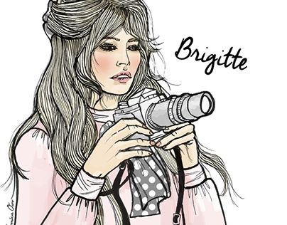 "Check out new work on my @Behance portfolio: ""Bardot"" http://be.net/gallery/37882927/Bardot"
