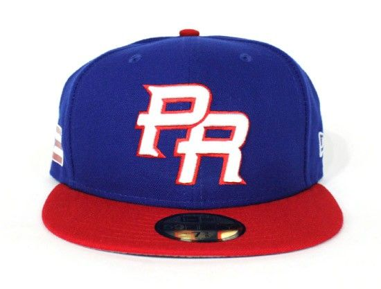 2017 World Baseball Classic Puerto Rico New Era 59Fifty Fitted ...