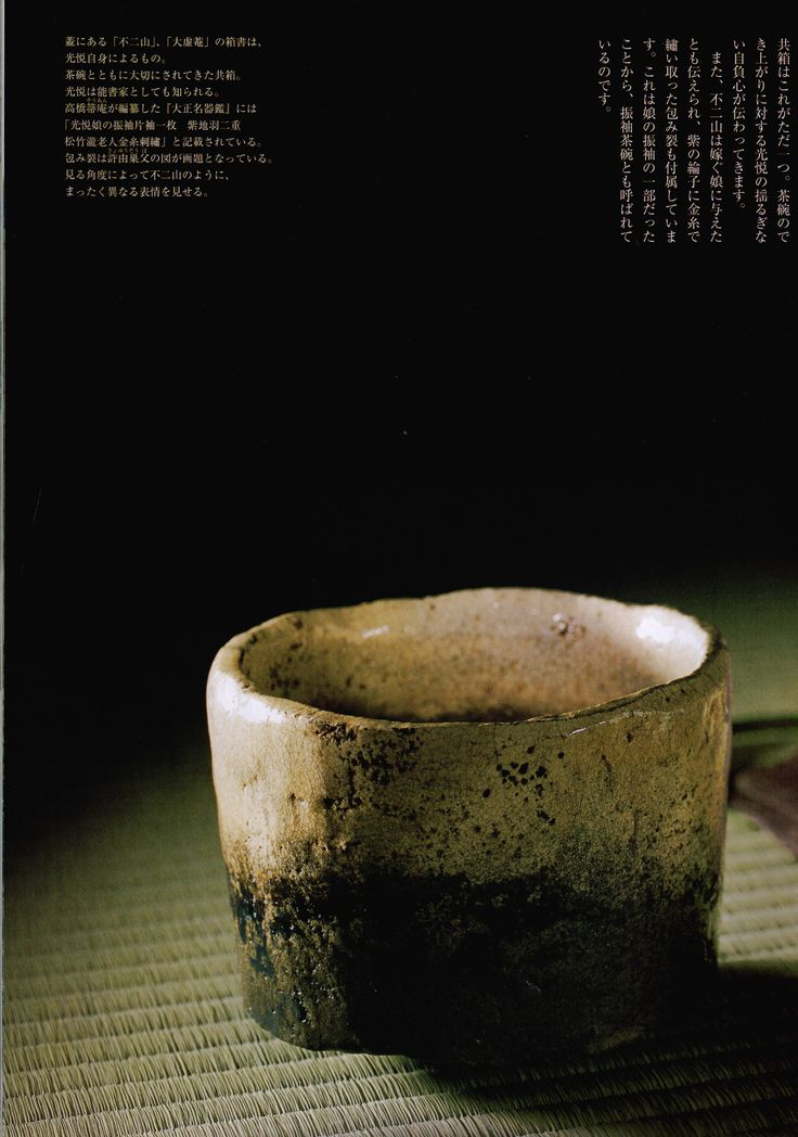 Fujisan Raku Chawan 1(Koetsu).jpg - Toku Art -Contemporary Japanese Ceramics & Applied Arts