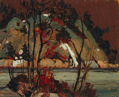 tom thomson 1916 (White Winter Hymnal)