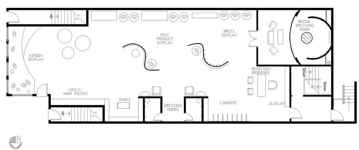 Outstanding Sample Retail Store Floor Plans  X    Kb