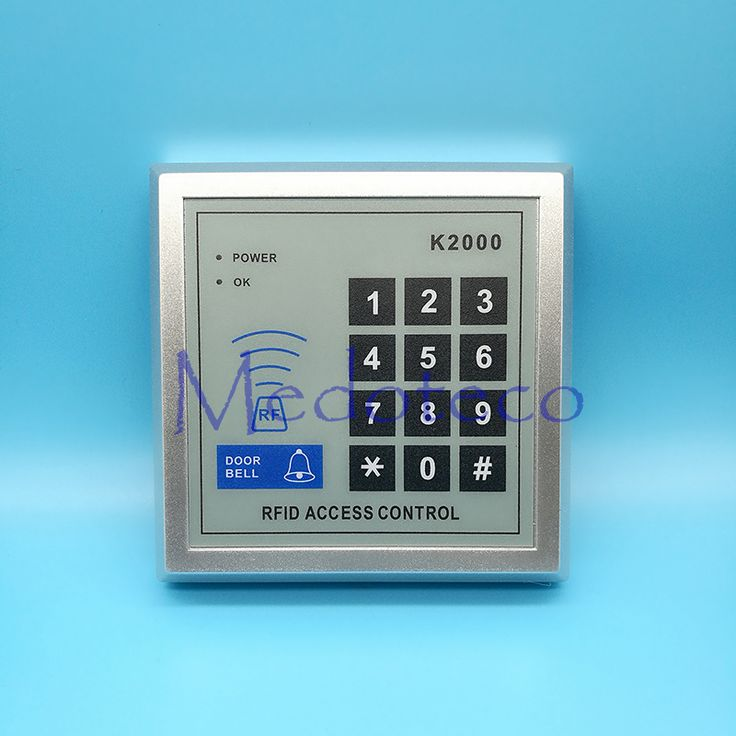 125khz RFID Proximity Card Access Control System RFID/EM Keypad Card Access Control Door Opener Optional Rain Cover