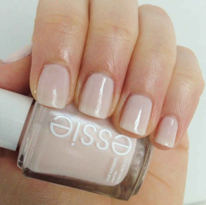A subtle beauty. Essie Ballet Slippers Nail Polish.
