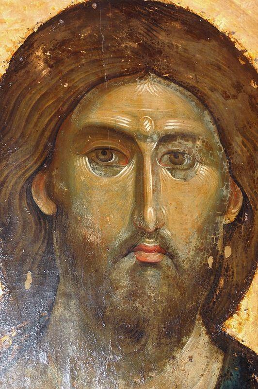 0_11deb3_8e3072b1_XL.jpg (532×800)  Христос Пантократор. Византийская икона в монастыре Хиландар на Святой Горе Афон. 1260-е